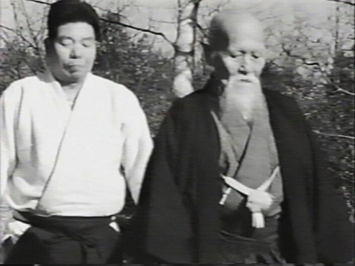 Morihiro Saito mit O Sensei